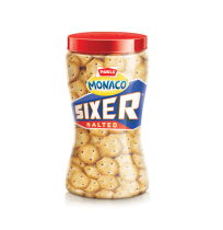 Parle Sixer Salted - 200gm Jar