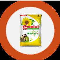 Gemini Sunflower Oil 1 litre pack