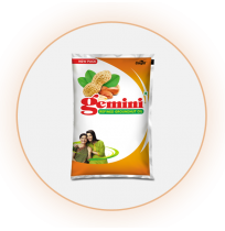 Gemini Groundnut oil 1 litre per bottle