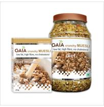 Gaia Crunchy Diet Muesli 400g