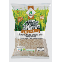 24 Mantra Organic - Sonamasuri Raw Brown Rice 5kg