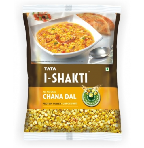 Tata I Shakti Chana Dal - 500gm Pouch