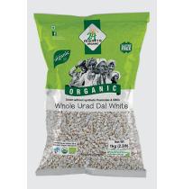 24 Mantra Organic Urad white Dal 500 gm