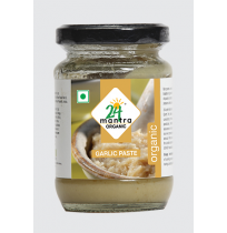 24 Mantra Organic Garlic Paste 140g