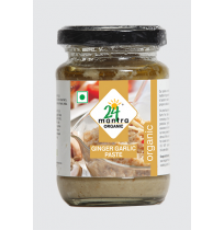 24 Mantra Organic Ginger Garlic Paste 140g