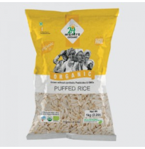 24 Mantra Organic - Puffed Rice 200gm Pouch