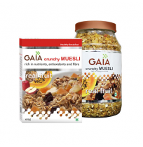 Gaia Muesli Real Fruit 400g