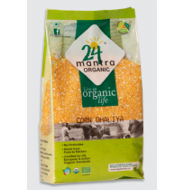 24 Mantra Organic - Corn Dhaliya 500 gms