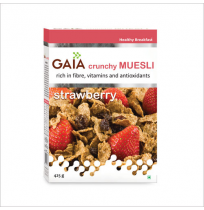 Gaia Muesli Strawberry 400g