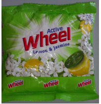 Active Wheel Lemon & Jasmine Detergent Powder 190 gm
