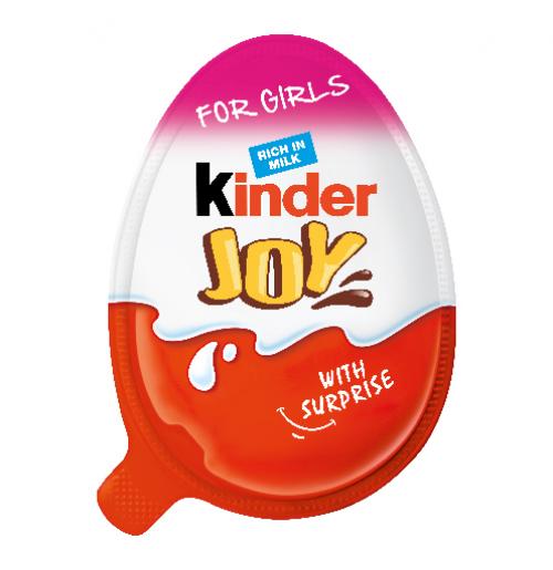 Kinder Joy Chocolate For Girls