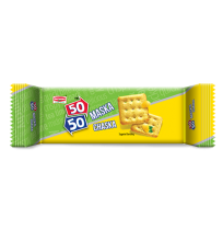 Britannia 50-50 Maska Chaska Biscuits - 55 gm Pouch