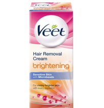 Veet Hair Removal Cream – Brightening for Sensitive Skin (25 gm)
