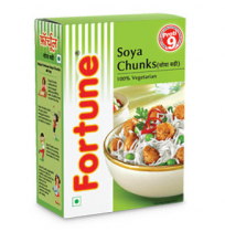 Fortune Soya Chunks 1kg Pouch