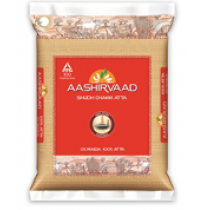 Aashirvaad Whole Wheat Atta - 5 kg Pouch