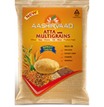 Aashirvaad Multigrains Atta - 1 kg Packet