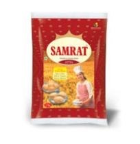 Samrat Premium Chakki Atta - 1kg Pouch
