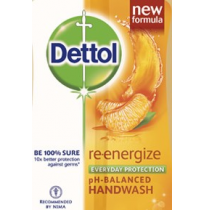 Dettol Re-energise pH-balanced Hand Wash - Refill Pouch 185ml