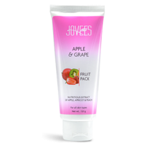 Jovees Apple & Grape Fruit Pack (120 gm)