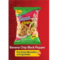 Haldirams Banana Chips - Black Pepper 45gm Pouch