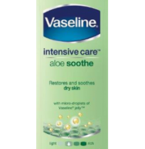 Vaseline Aloe Soothe Body Lotion - 100 ml