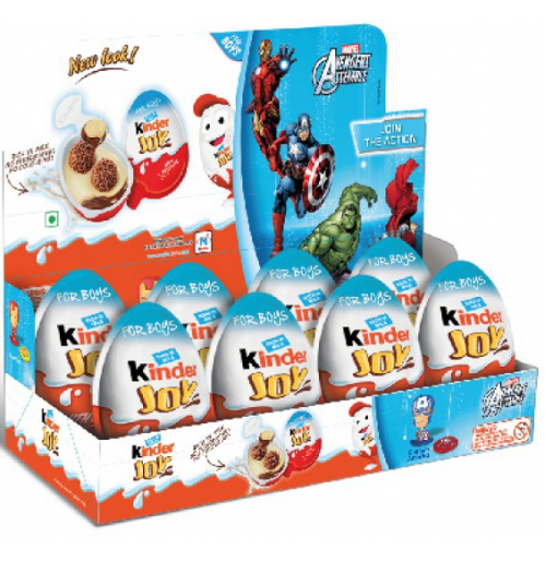Kinder Joy 8 pcs Chocolates for Boys