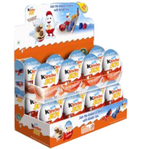 Kinder Joy 16 pcs Chocolates for Boys