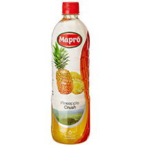 Mapro  Pineapple Crush - 1 ltr Bottle