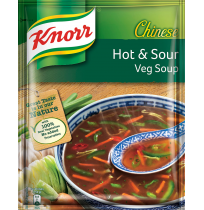 Knorr Chinese Hot & Sour Vegetable Soup - 11 gm