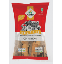 24 Mantra Organic  Cinnamon 250gm