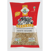 24 Mantra Organic White Sesame  100gm