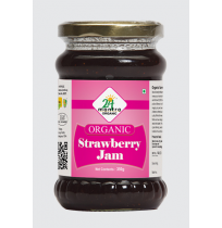 24 Mantra Organic Strawberry Jam 375 g