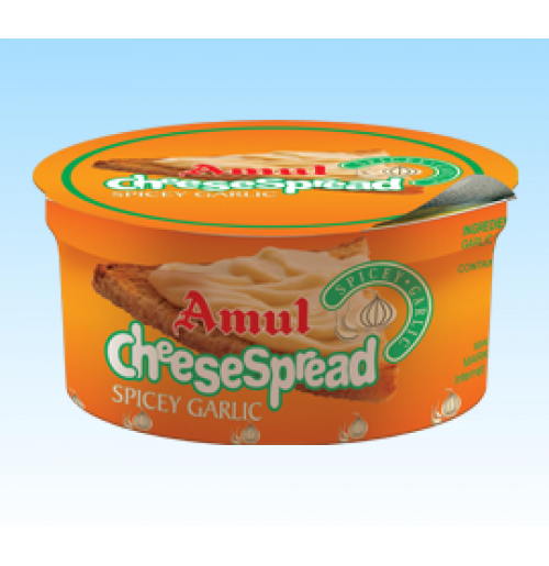 Amul Cheese Spread Garlic (200 gm)