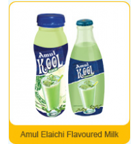 Amul Kool Elaichi Flavoured Milk (200 ml can)