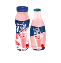 Amul Kool Rose Flavoured Milk (200 ml)