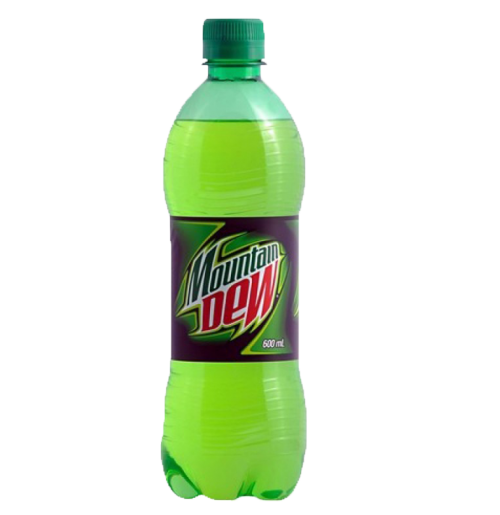 Mountain Dew Soda Drink (600 ml)