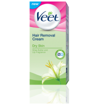Veet Hair Removal Cream Dry Skin