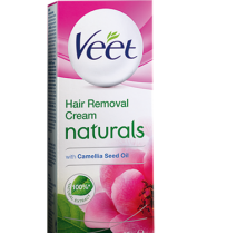 Veet Naturals with Camellia Seed Oil extracts for Sensitive Skin (25 gm)