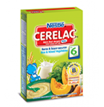 Nestle Cerelac Infant Cereal Rice & Mixed Vegetables 300gm