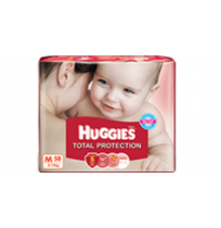 Huggies Total Protection (M) Pack of 58