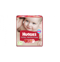 Huggies Total Protection (S) Pack of 46