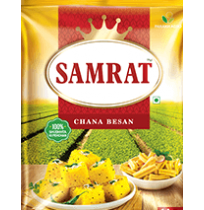 Samrat Premium Quality Besan ( Gram Flour ) - 200gm Pouch
