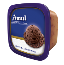 Amul Ice Cream - Chocolate Brownie(1 ltr Tub )