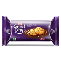Britannia Good Day Cookies - Choco Chip 75gm Pouch