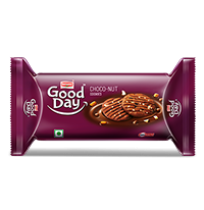 Britannia Good Day Cookies - Choco Nut 75gm Pouch