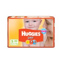 Huggies Dry Diapers (S) - Pack of 2