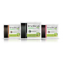 Indica Hair Colour - 2 In 1 Pack With Amla & Henna, 5 gm Pouch