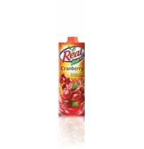Real-Cranberry Fruit Juice (1 Ltr)