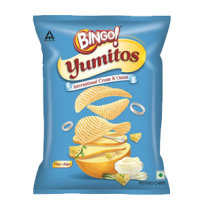Bingo! Yumitos International Cream & Onion 26gm Pouch