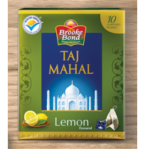 Taj Mahal Lemon Tea Bags (10 Tea bags)